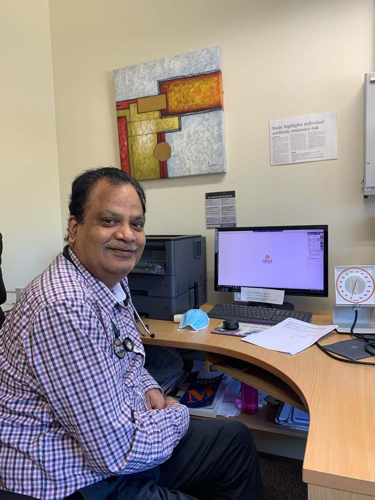 Dr Pradeep Lath